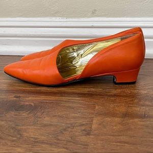 Paloma Italy 80s vintage cut-out shoes